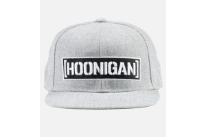 HOONIGAN Censor Bar Snapback Hat Grey - Universal