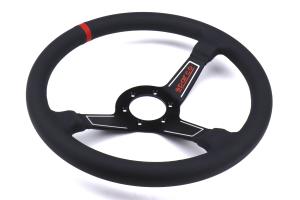 Sparco L575 Steering Wheel Leather Black - Universal