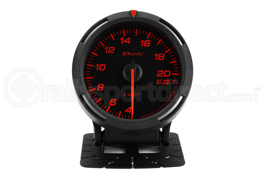 Defi Red Racer EGT Exhaust Gas Temperature Gauge Imperial 60mm 400-2000F (Part Number:DF11802)