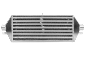 ETS Front Mount Intercooler Black Piping Silver Core (Part Number: 100-28WB)