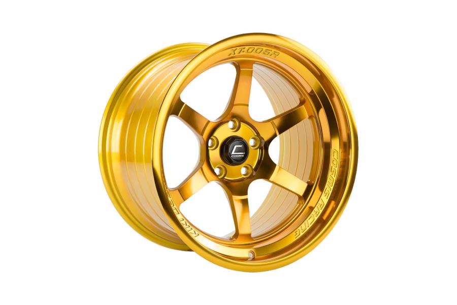Cosmis Racing XT006R 18x9 +30 5x114.3 Hyper Gold - Universal