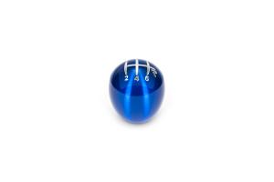 Raceseng Slammer Blue Translucent Shift Knob w/ Engraving - Mitsubishi Evolution MR 2005-2006 / Nissan 350Z 2003-2009 / Nissan 370Z 2009-2017