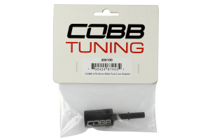 COBB Tuning Billet Fuel Line Adapter 5/16-8mm (Part Number: )