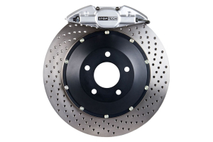 Stoptech ST-22 Big Brake Kit Rear 328mm Silver Drilled Rotors ( Part Number:STP 83.841.002G.62)
