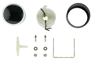 ProSport Mechanical Boost Gauge Blue/White 52mm (Part Number: )