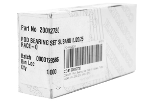 Cosworth Rod Bearing Set Size 0 (Part Number: )