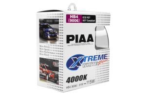 PIAA 9006 120W 4000K Xtreme White Bulb Twin Pack (Part Number: )