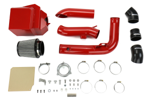 cp-e aIntake Dry Flow Intake w/Air Box Race Red - Ford Fiesta ST 2014-2015