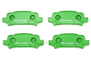 EBC Brakes Greenstuff Rear Brake Pads - Subaru Models (inc. 2002-2003 WRX / 2005-2009 Legacy GT)