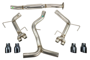 AWE Tuning Track Edition Cat Back Exhaust Diamond Black Tips - Subaru WRX/STI Sedan 2011+