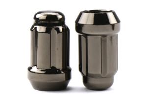 Muteki Lug Nuts 12x1.25 Closed End Black Chrome - Universal
