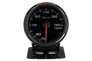Defi White Racer Temperature Gauge Metric 60mm 30-150C ( Part Number:DEF1 DF11706)
