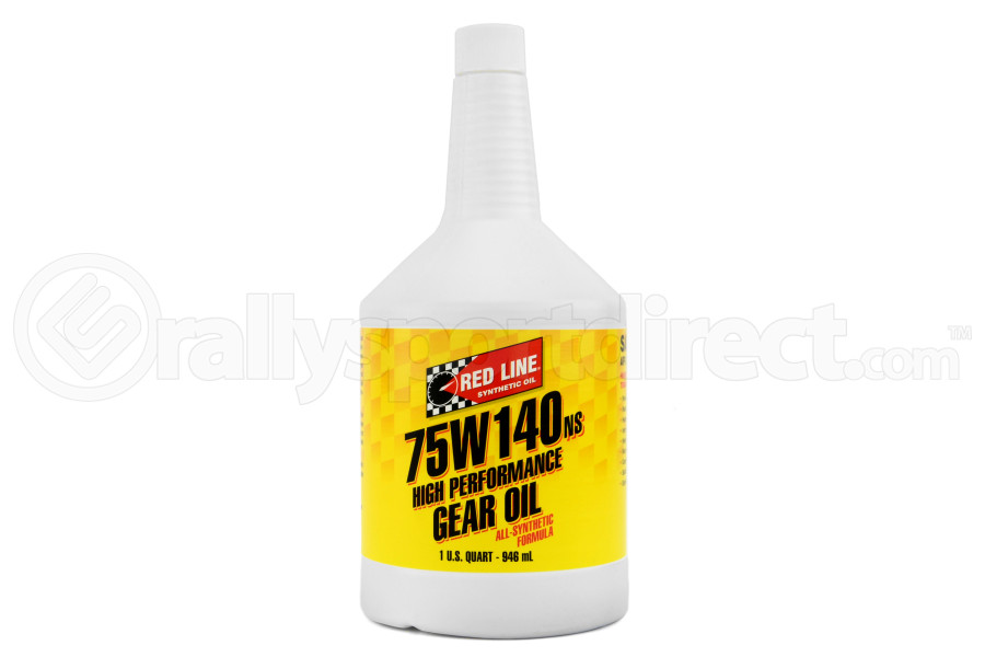 Red Line 75W140 NS GL-5 Gear Oil 1 Quart (Part Number:57104)