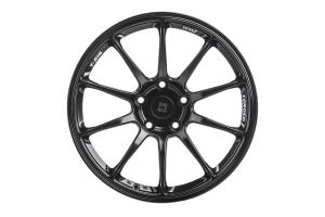 Titan 7 T-R10 17x9.5 +51 5x114.3 Machine Black - Universal