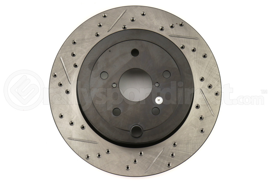 Stoptech Drilled and Slotted Rotor Single Rear Right (Part Number:127.47030R)