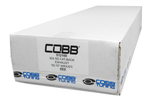 COBB Tuning Cat Back Exhaust Stainless Steel ( Part Number:COB 512100)