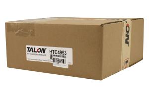 Hawk Talon Cross Drilled and Slotted Rear Rotor Pair - Subaru WRX 2006-2007