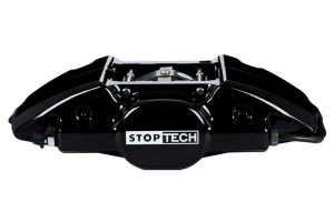 Stoptech ST-22 Big Brake Kit Rear 328mm Black Zinc Slotted Rotors ( Part Number:STP 83.839.0023.53)