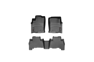 Weathertech Floor Liners (Front and Rear) - Ford Focus RS 2016+