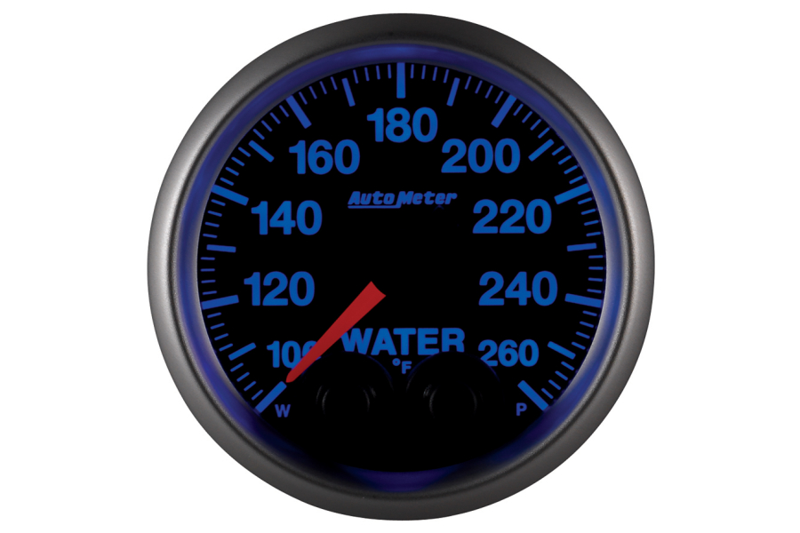 Autometer Elite Water Temperature Gauge 7 Color 52mm - Universal