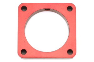 Torque Solution 19mm Throttle Body Spacer Red - Scion FR-S 2013-2016 / Subaru BRZ 2013+ / Toyota 86 2017+