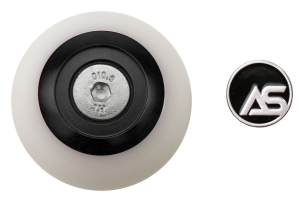 AutoStyled Shift Knob Black w/ White Delrin Center - Ford Focus RS 2016+ / Ford Focus ST 2013+ / Ford Fiesta ST 2014+