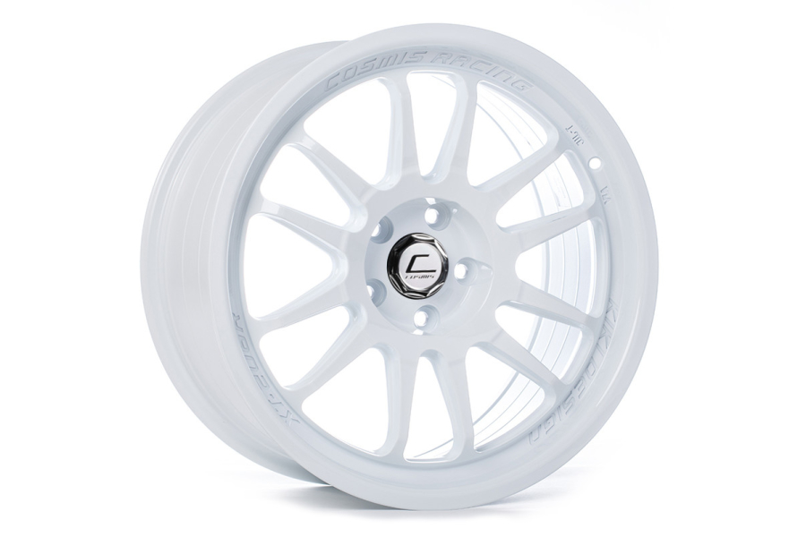 Cosmis Racing Wheels XT-206R 18X9.5 +10 5x114.3 White - Universal