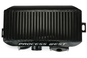 Process West Top Mount Intercooler Black - Subaru WRX 2002-2007 / STI 2004-2007