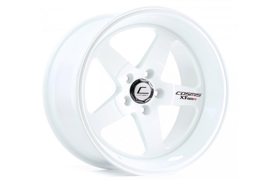 Cosmis Racing Wheels XT-005R 18x10 +20 5x114.3 White - Universal