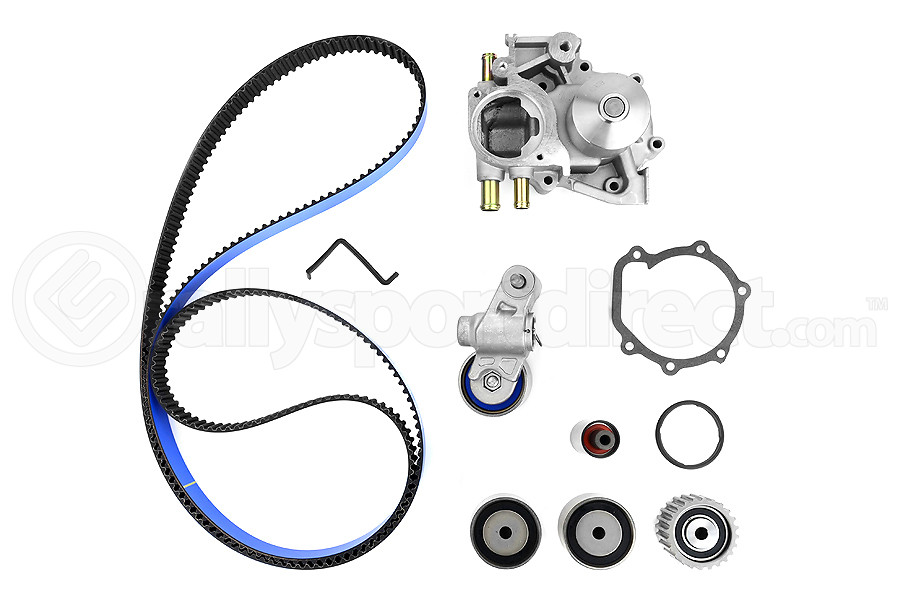 gates racing timing belt kit w water pump