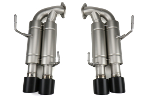 cp-e Austenite Axle Back Exhaust w/ Black Tips - Subaru WRX / STI 2015 - 2020