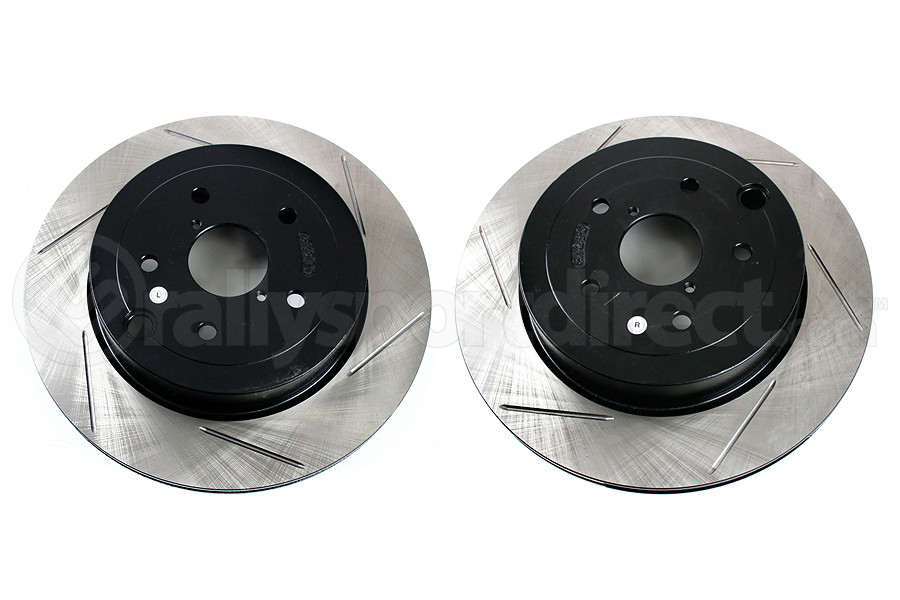 Stoptech Slotted Rotor Pair Rear (Part Number:126.47030S)