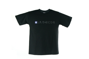 Sparco Racing T-Shirt (Black / White) (Part Number: )
