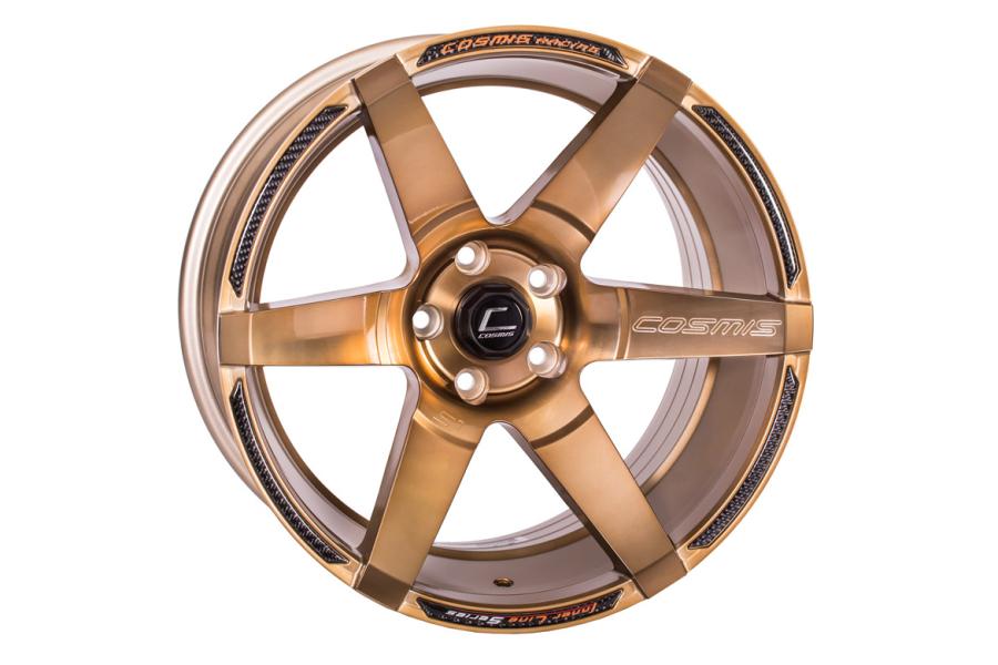 Cosmis Racing Wheels S1 18x10.5 +5 5x114.3 Hyper Bronze - Universal