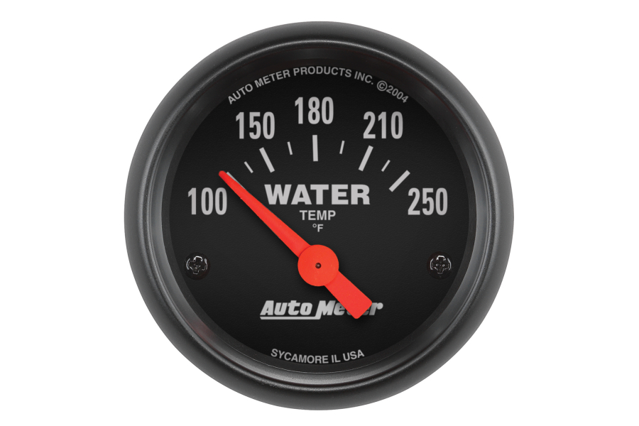Autometer Z-Series Water Temperature Gauge Electrical 52mm - Universal