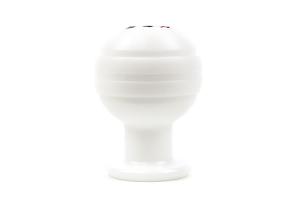 Beatrush Duracon Shift Knob White 5MT M12x1.25 - Universal