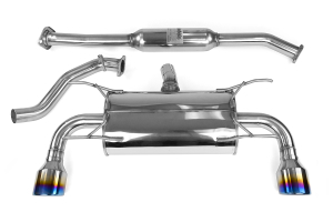 Invidia Q300 Cat Back Exhaust Titanium Tips ( Part Number:INV HS12SSTG3T)