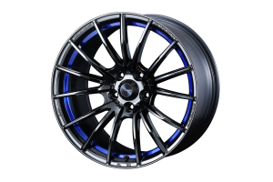 WedsSport SA35R 4x100 Blue Light Chrome II - Universal