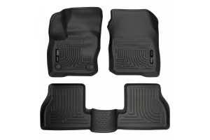 Husky Liners Weatherbeater Series Floor Liners Black - Ford Focus RS 2016 - 2018