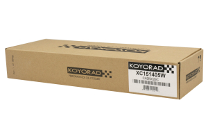 Koyo Universal 15 Row Oil Cooler Black - Universal