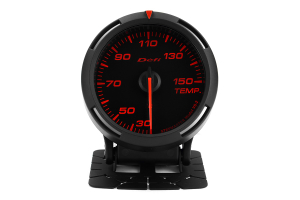 Defi Red Racer Temperature Gauge Metric 60mm 30-150C ( Part Number:DEF1 DF11705)