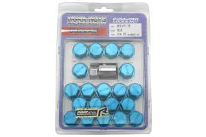 Volk Racing Rays 35MM 12X1.25 Lug Nuts Blue (Part Number: )