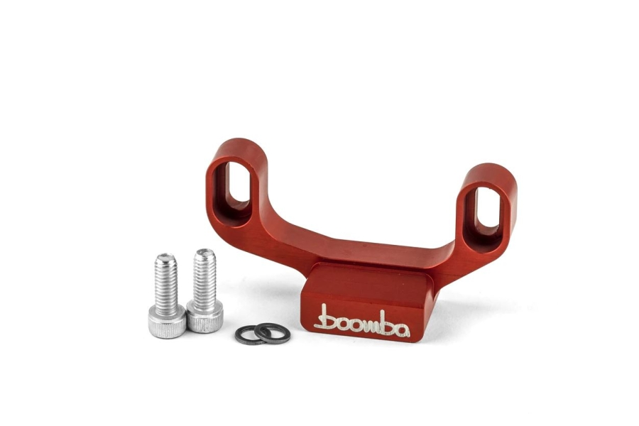 Boomba Racing Adjustable Shifter Stop Red - Subaru WRX 2015+