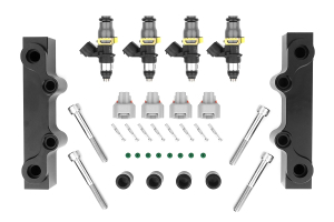 Injector Dynamics Fuel Injectors 2000cc w/ Top Feed Fuel Rails (Part Number: )