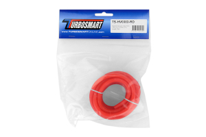 Turbosmart Silicone Vacuum Hose 3mm x 3m Red (Part Number: TS-HV0303-RD)