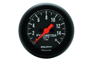 Autometer Z-Series EGT Exhaust Gas Temperature Gauge 52mm - Universal