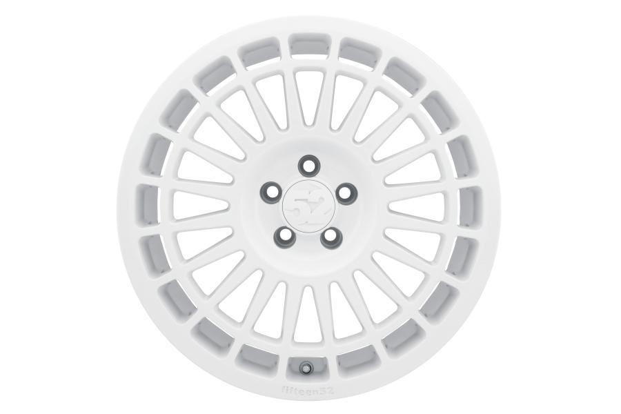 fifteen52 Integrale 18x8.5 +48 5x114.3 Rally White  - Universal