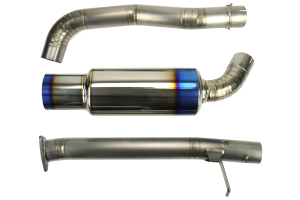 Tomei Expreme Ti Titanium Cat-Back Exhaust - Honda S2000 2000-2009