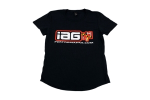 IAG Women's Maryland Flag T-Shirt Black - Universal