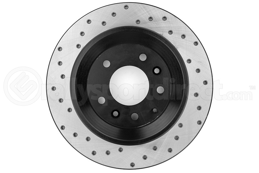 Stoptech Drilled Rear Right Rotor Single (Part Number:128.45074R)